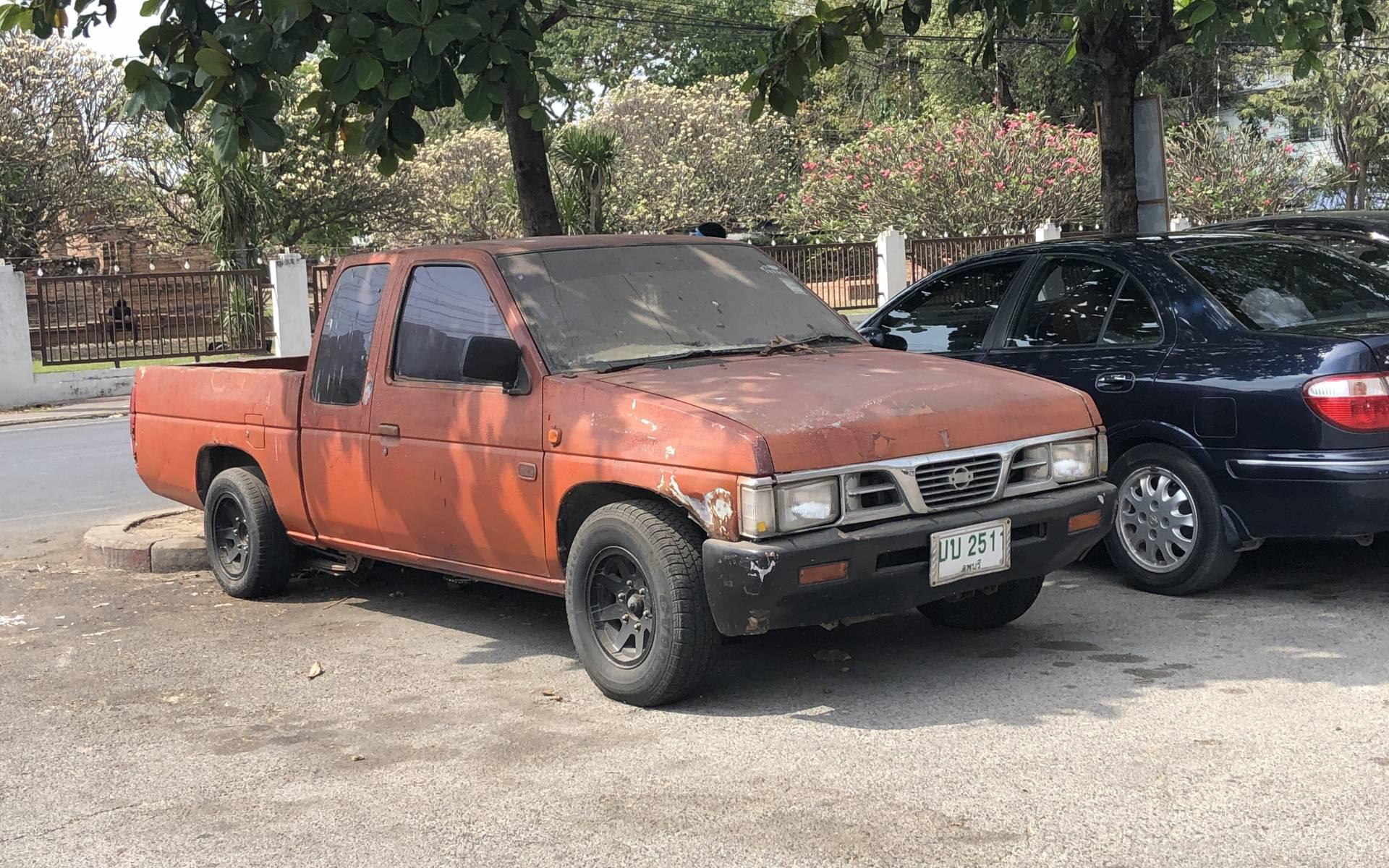 <p><strong>Nissan Hardbody</strong></p>