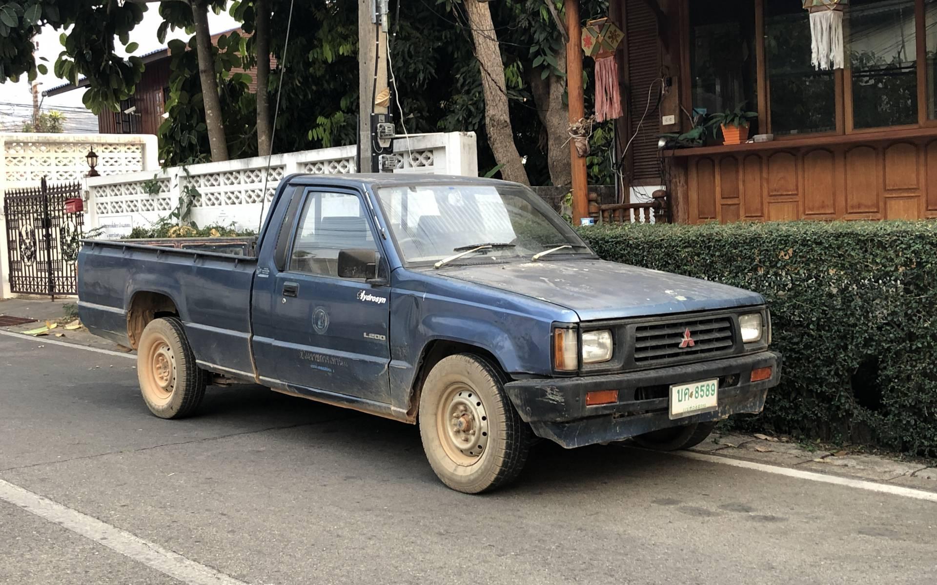 <p><strong>Mitsubishi L200</strong></p>