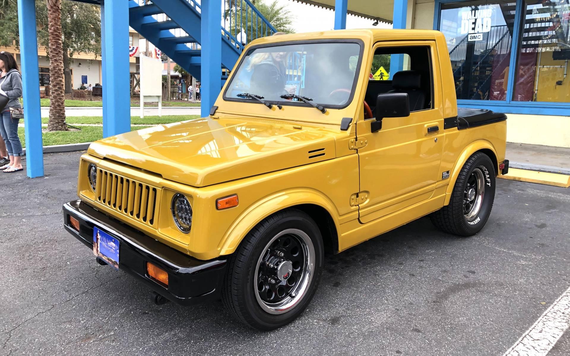<p><strong>Suzuki SJ 410</strong></p>