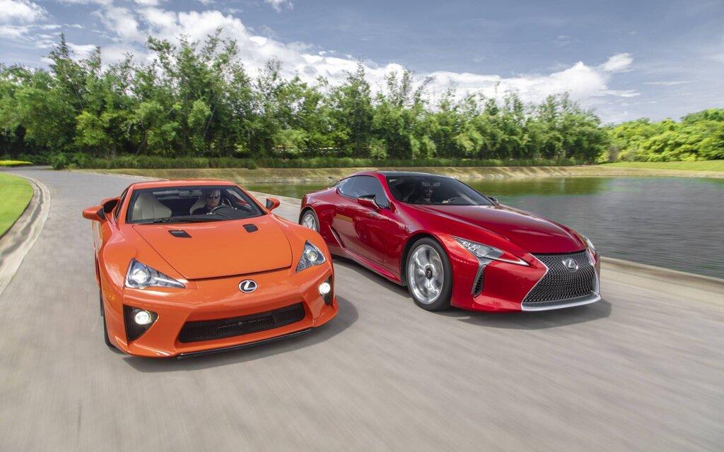 Lexus LC 2020: tout le monde a le droit de rêver