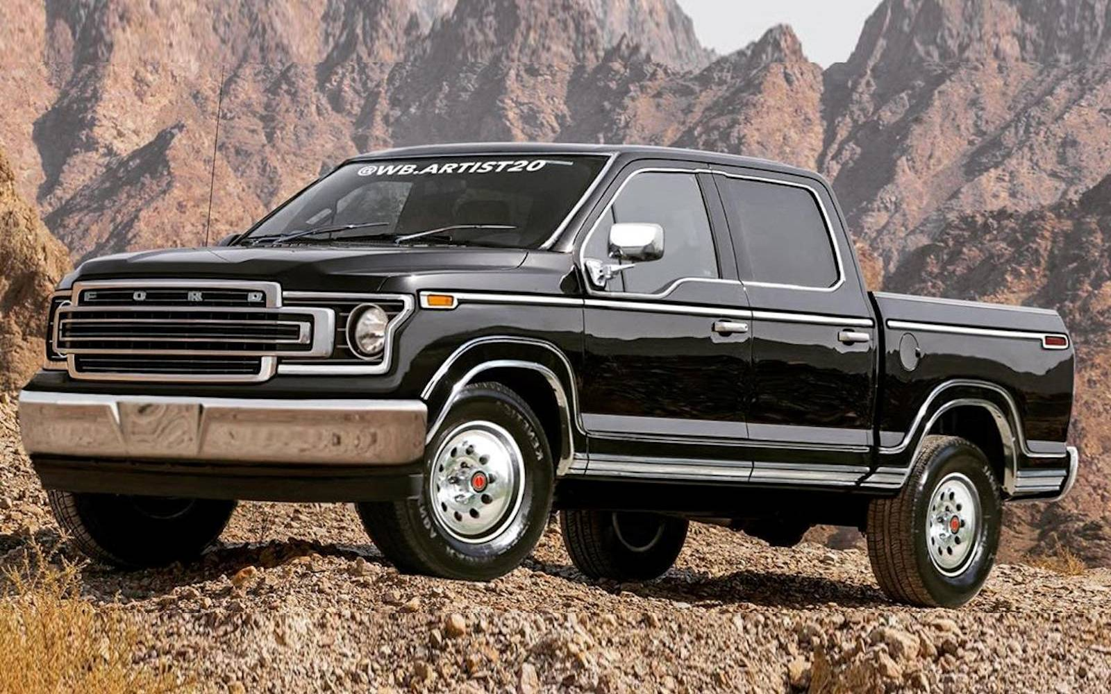 2021 Ford F100 Images