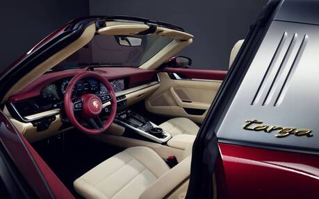 New Porsche 911 Targa 4s Heritage Design Is The Cherry On Top The Car Guide