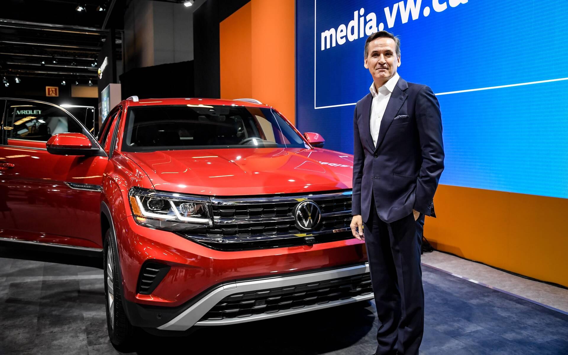 Pierre Boutin, PDG de Volkswagen Canada