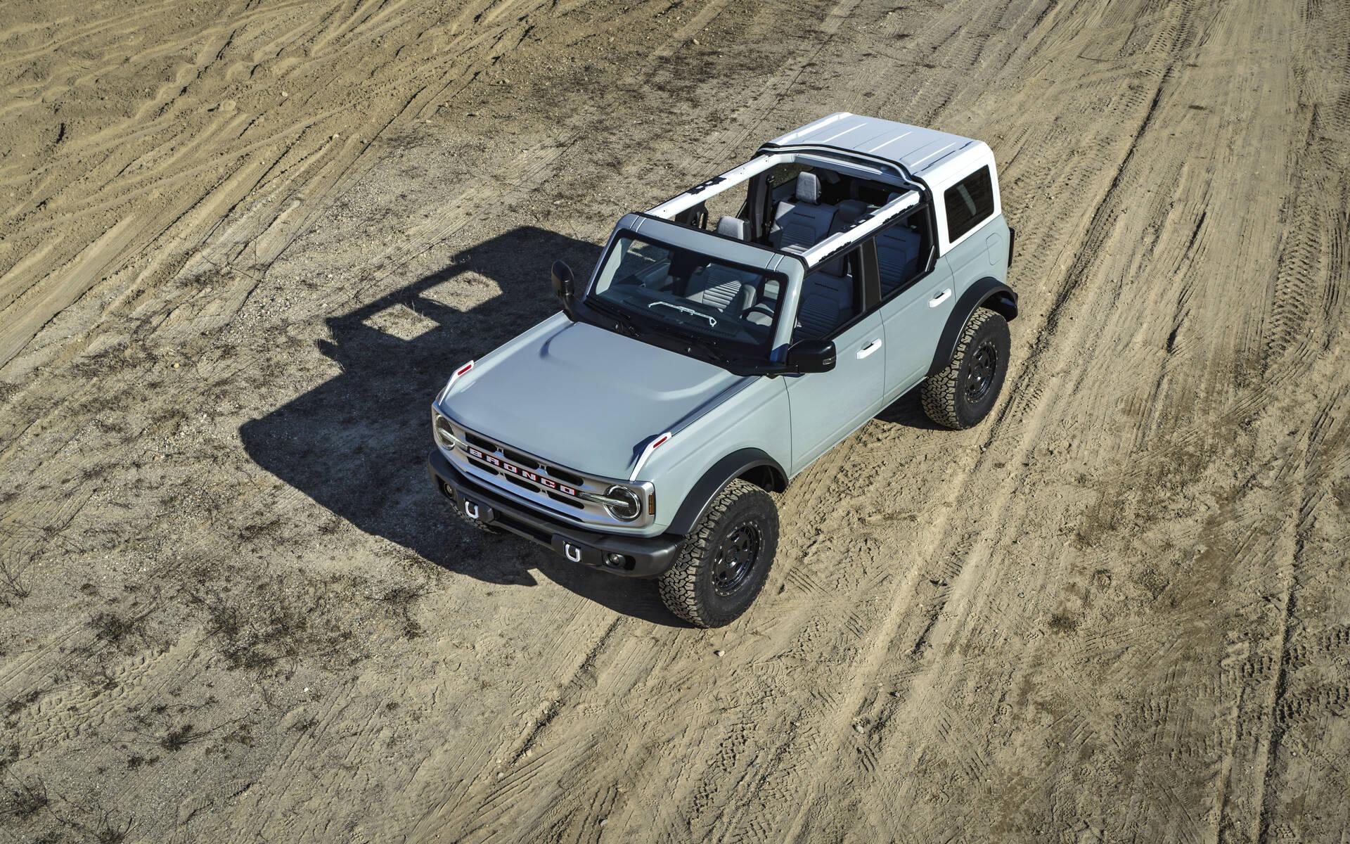 <p>Ford Bronco 4 portes 2021</p>
