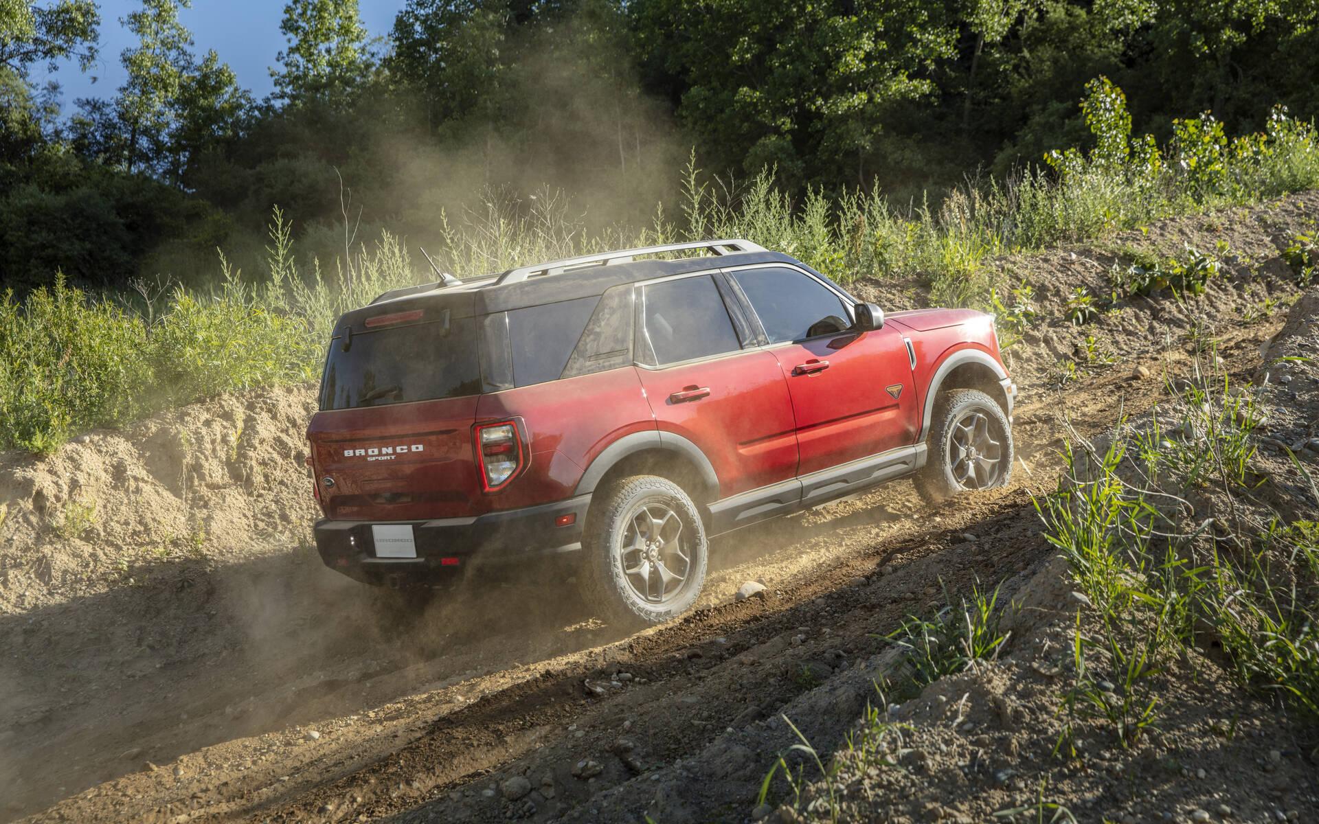 <p>Ford Bronco Sport 2021</p>