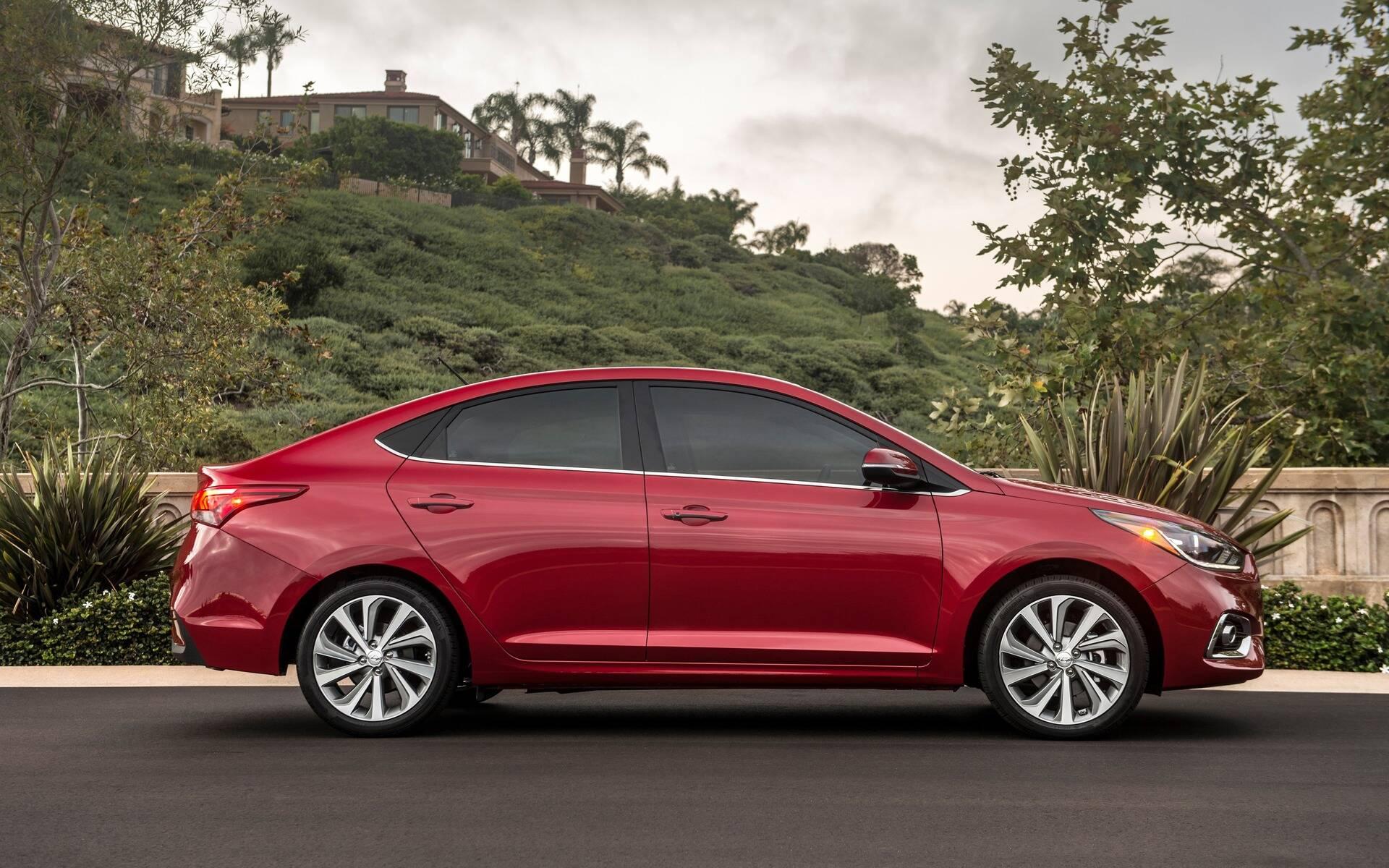 <p>Hyundai Accent de cinquième (et dernière) génération.</p>