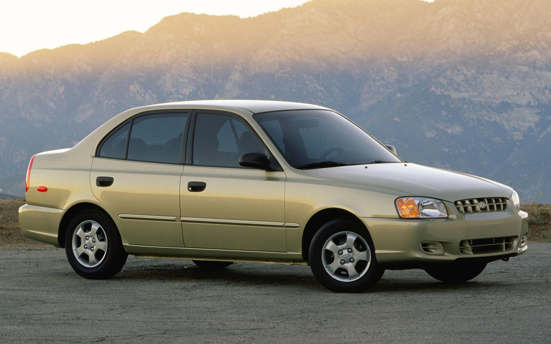 <p>Hyundai Accent de deuxième génération.</p>