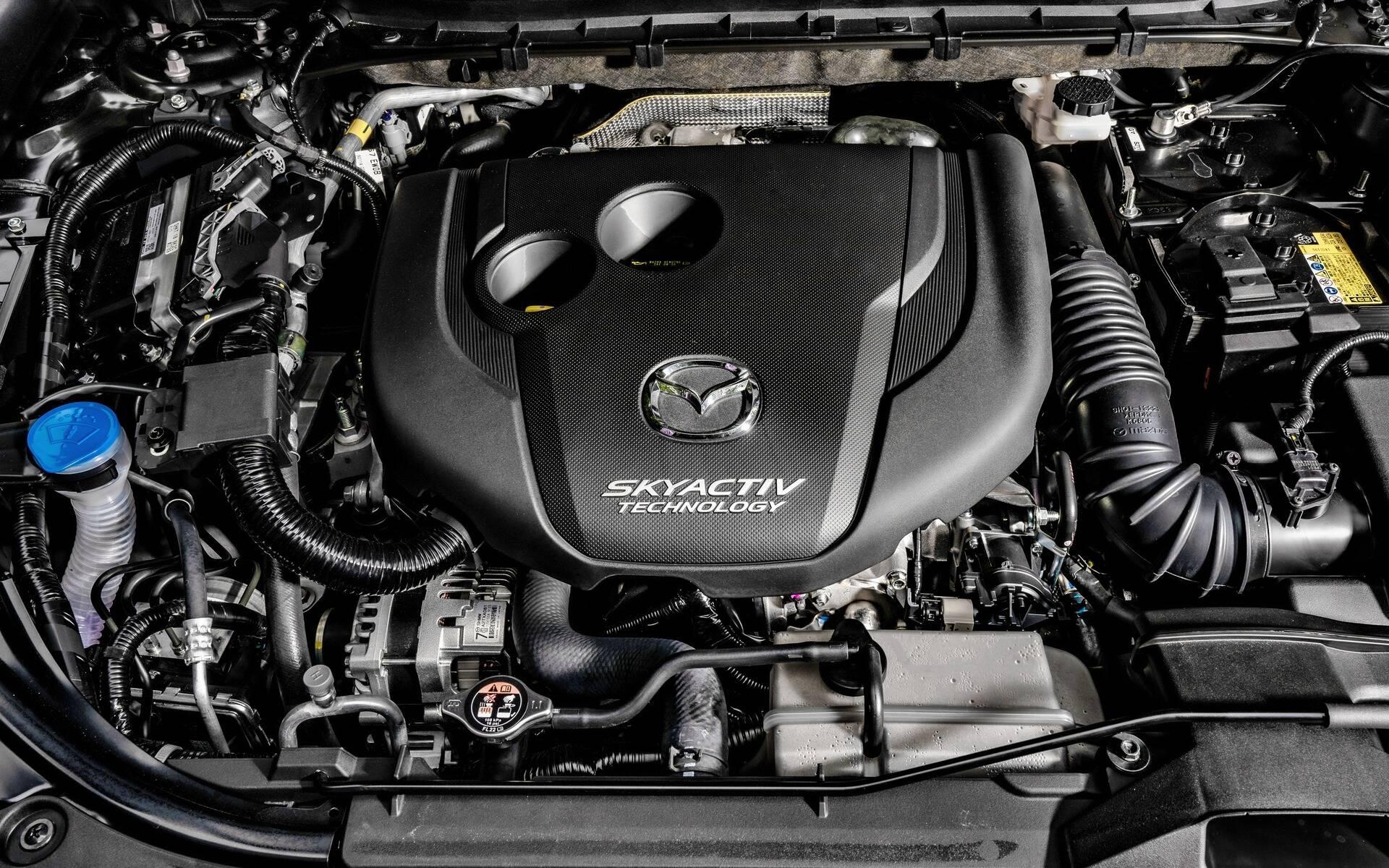 Moteur Mazda CX-5 2021 | Laurier Mazda