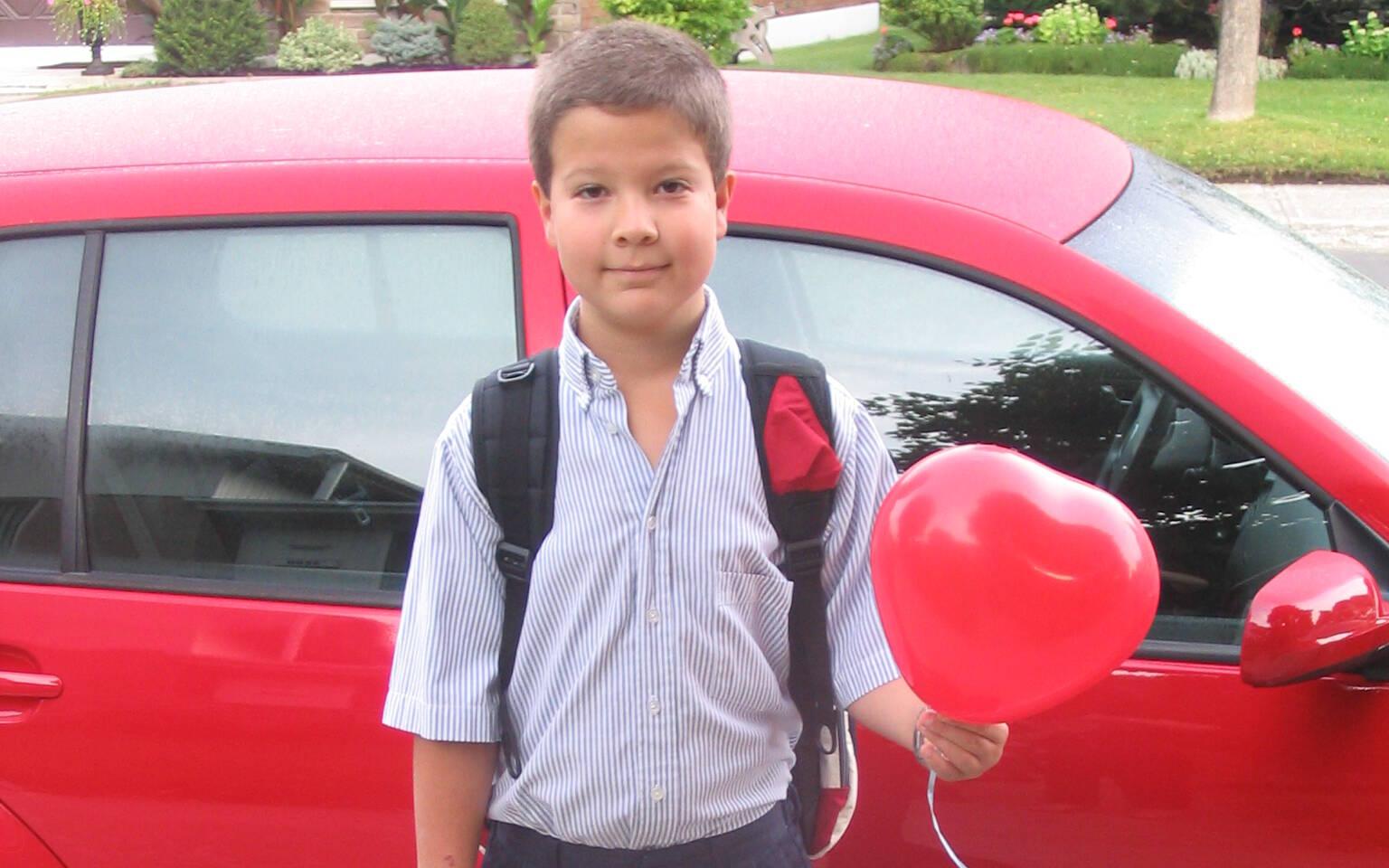 <p>À la rentrée scolaire de 2005.</p>