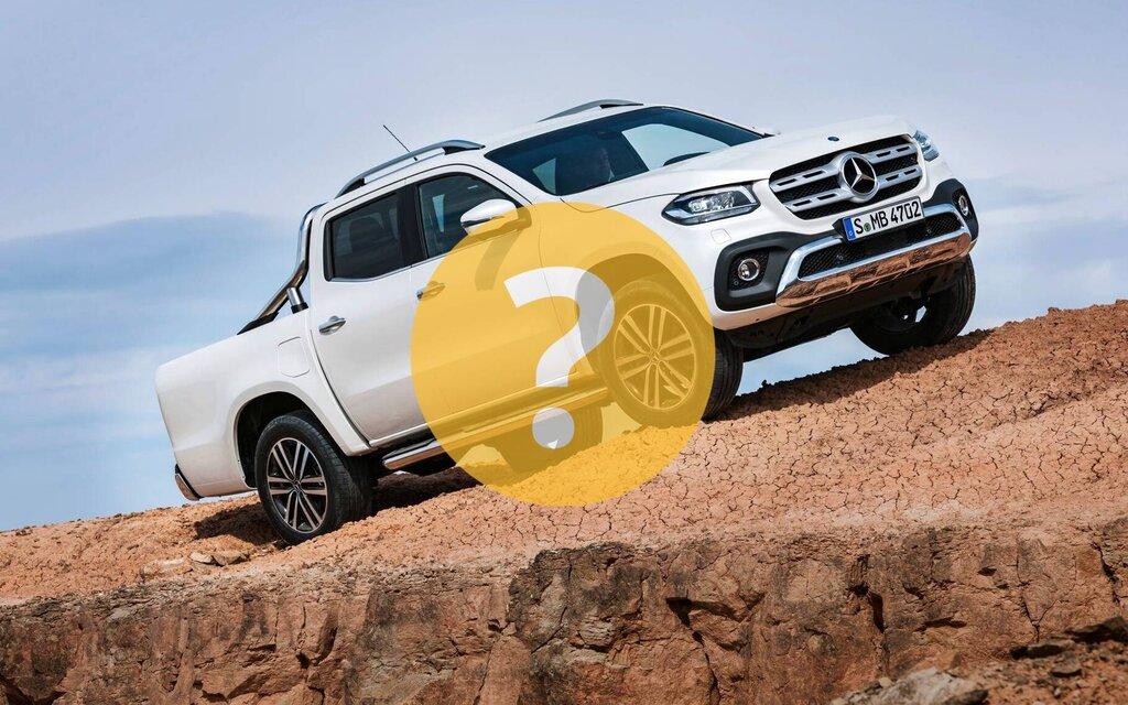 A van at Mercedes-Benz?