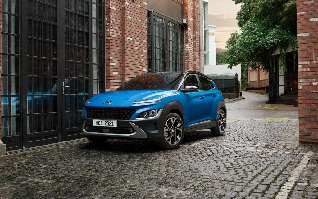 The Hyundai Kona will radically change its look in 2022