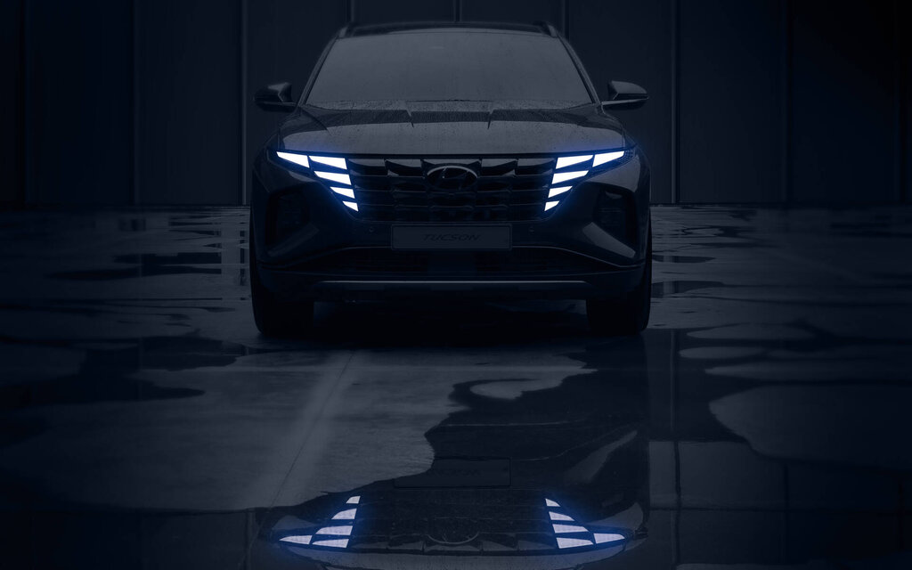 Here it is, the new Hyundai Tucson 2022