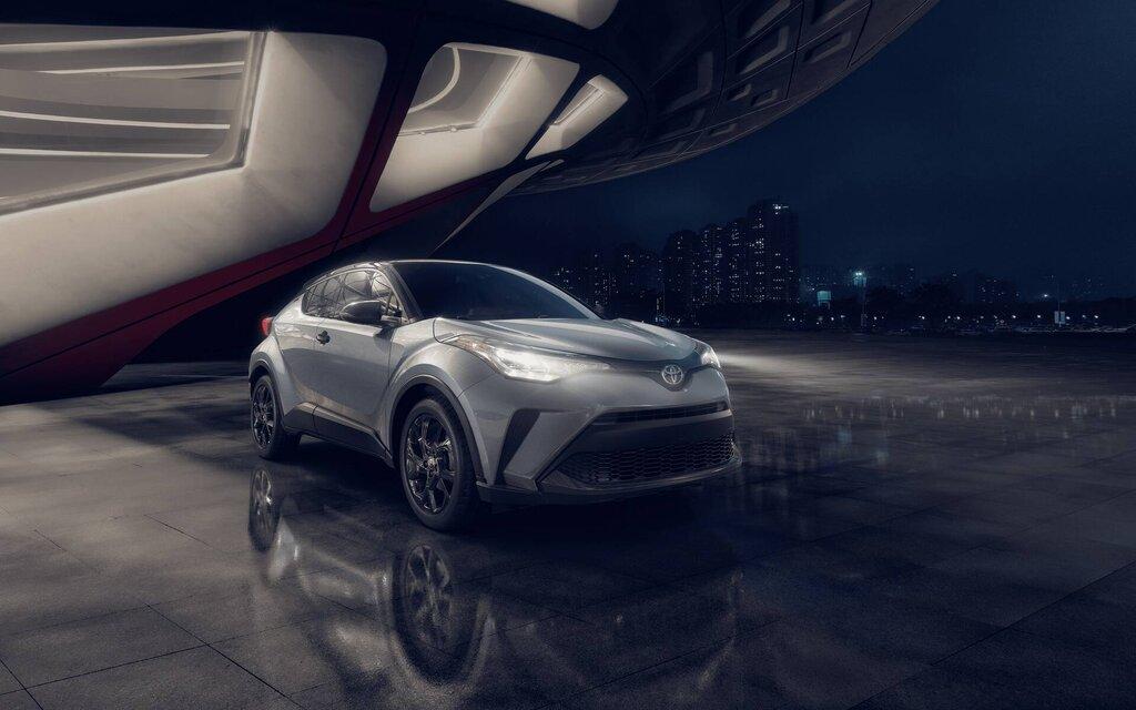2021 Toyota C-HR Adds Special Nightshade Edition