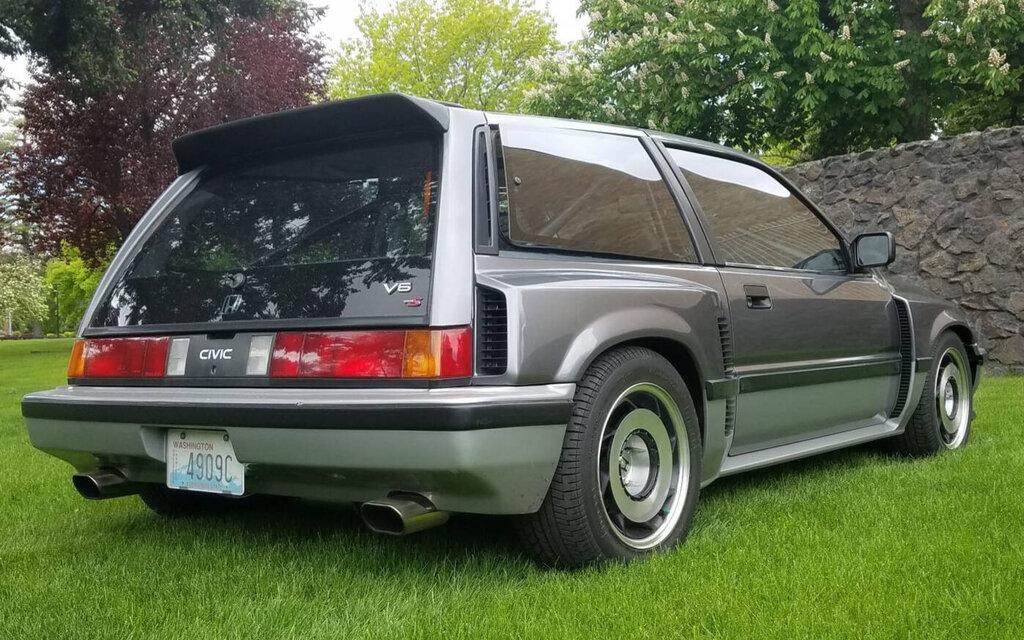 440840 vous devez voir cette honda civic hatchback 1984 a moteur central