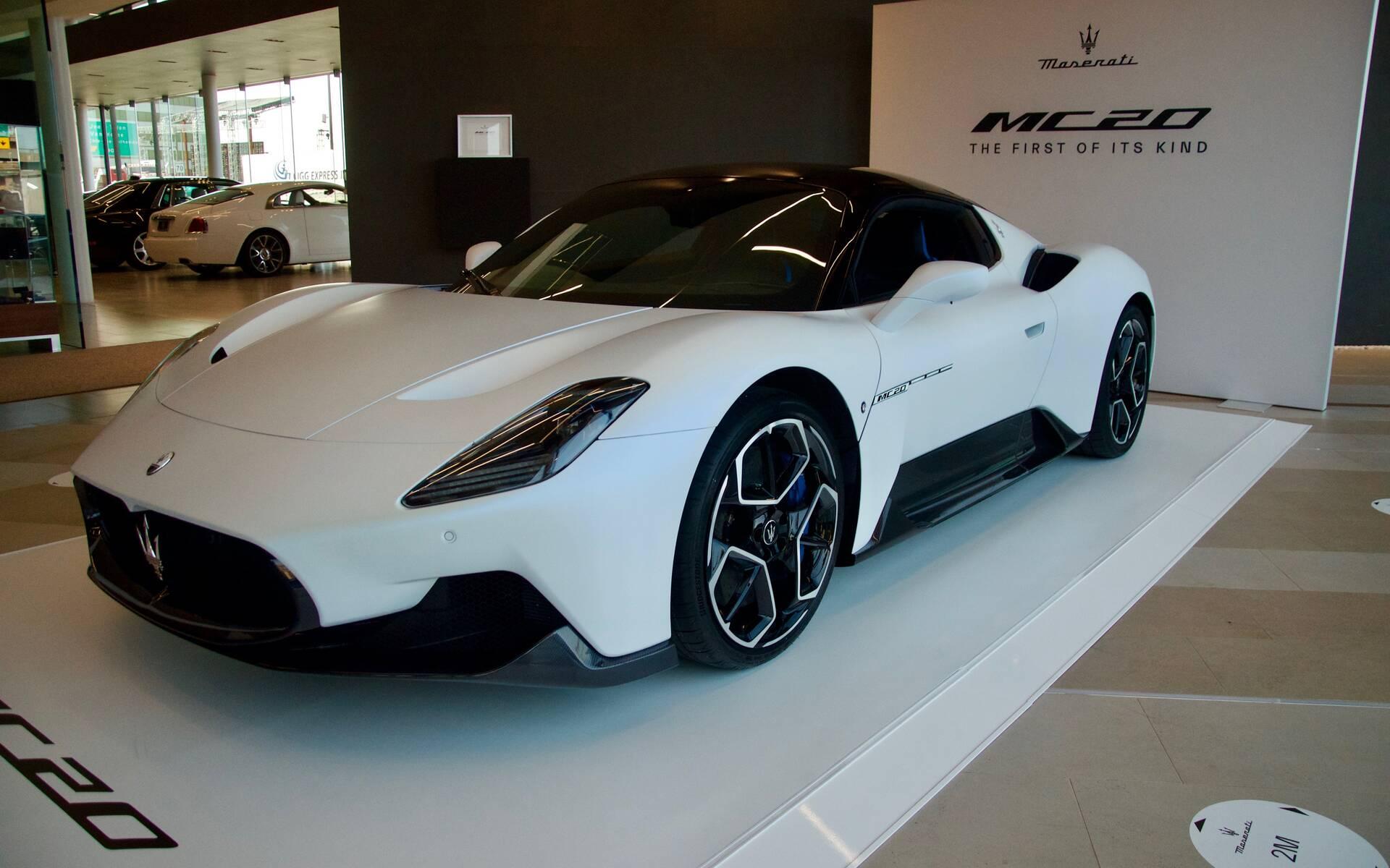 <p>Maserati MC20 2021</p>