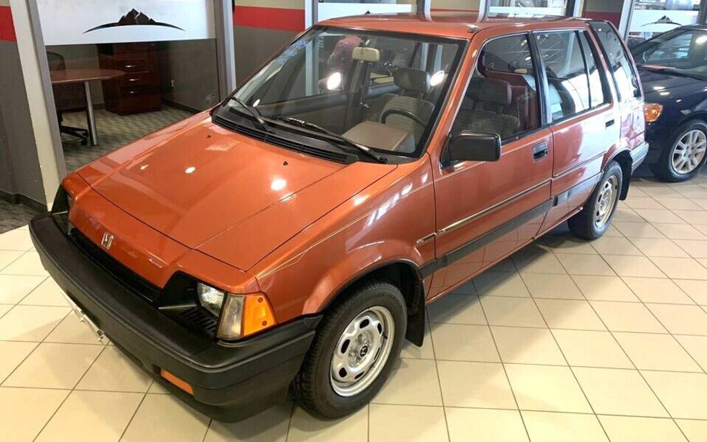 This rare Honda Civic wagon for sale will make you nostalgic