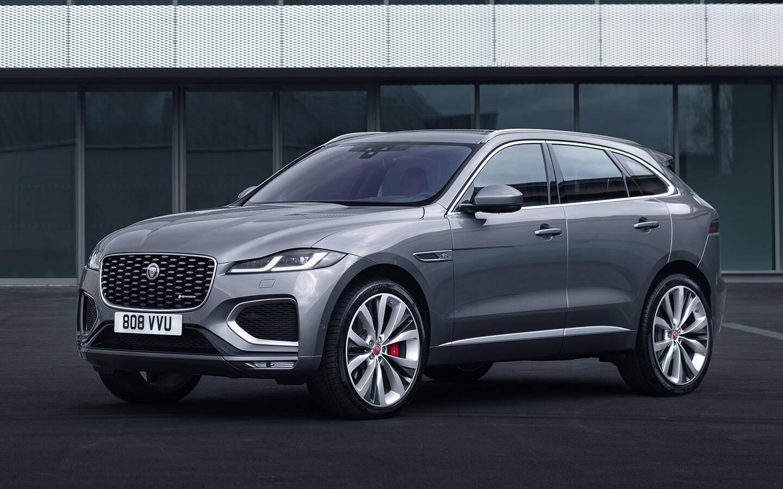 2021 Jaguar F Pace Update Includes High Tech Interior Electrification The Car Guide