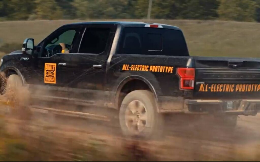 In video: more details on the electric Ford F-150