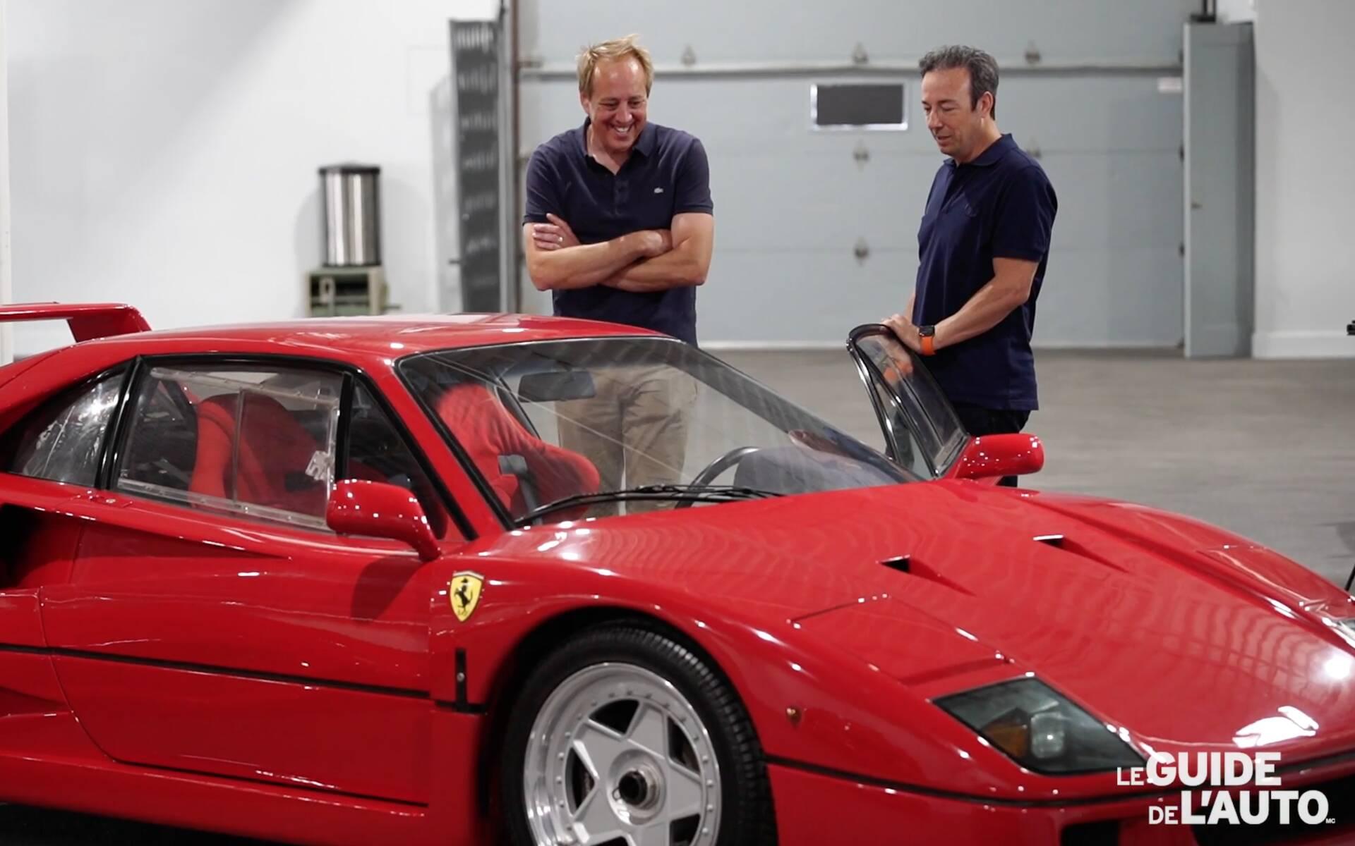 En Vidéo Un Québécois Présente Sa Collection Exceptionnelle De Ferrari Guide Auto