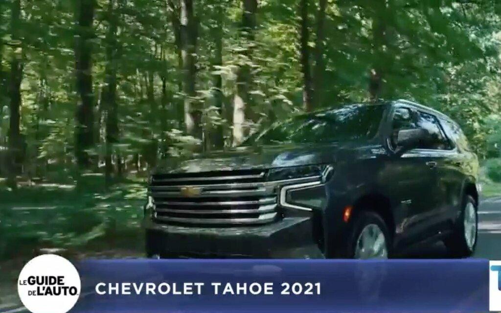 Antoine Joubert presents the 2021 Chevrolet Tahoe