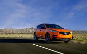 2021 acura rdx pmc edition: orange is the new black - the