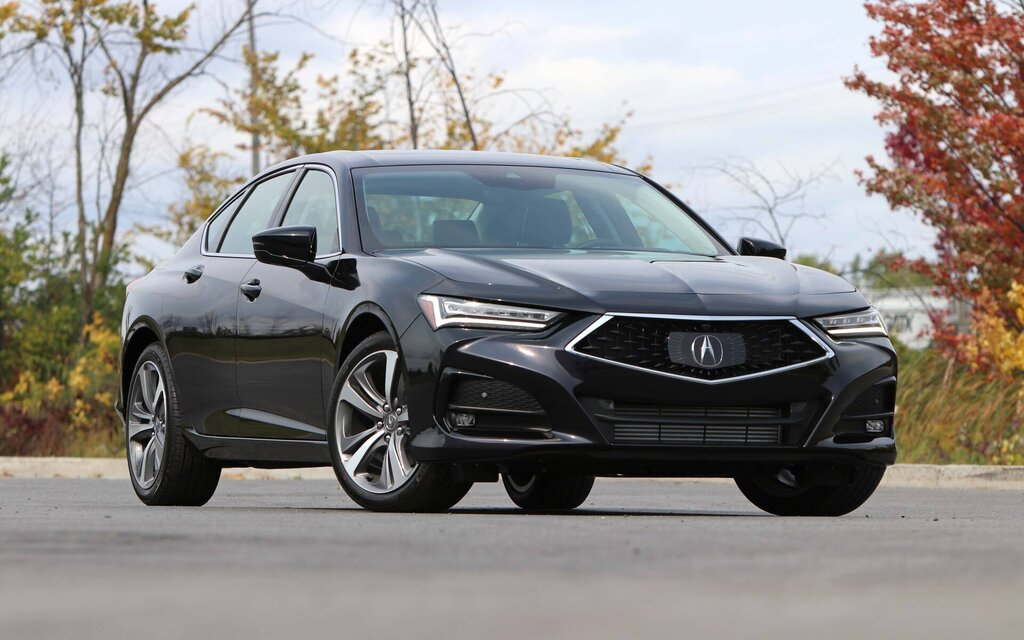 Acura TLX 2021: finally something new!