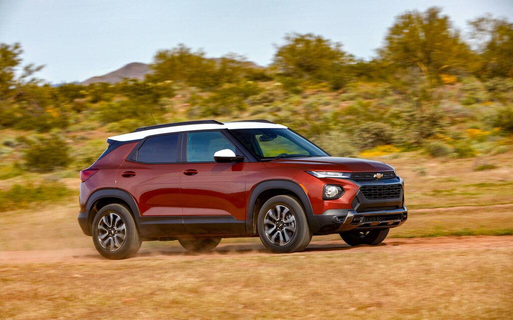 Chevrolet Trailblazer 2021: versions for all tastes