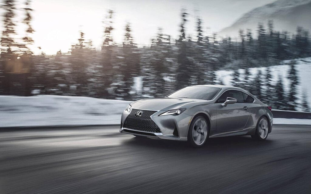 2020 Lexus RC 350 AWD: The everyday sports car… and all year round
