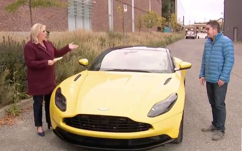 In video: Antoine Joubert presents the Aston Martin DB11
