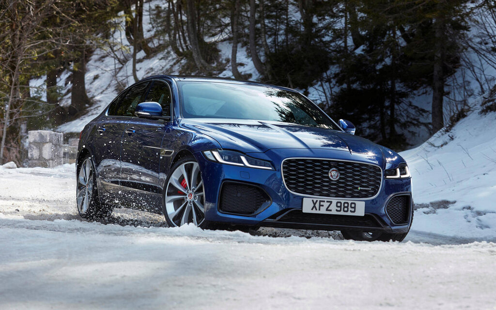 refreshed 2021 jaguar xf gets a new lease on life - the