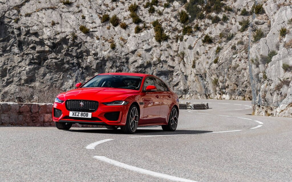It's retirement time for the Jaguar XE