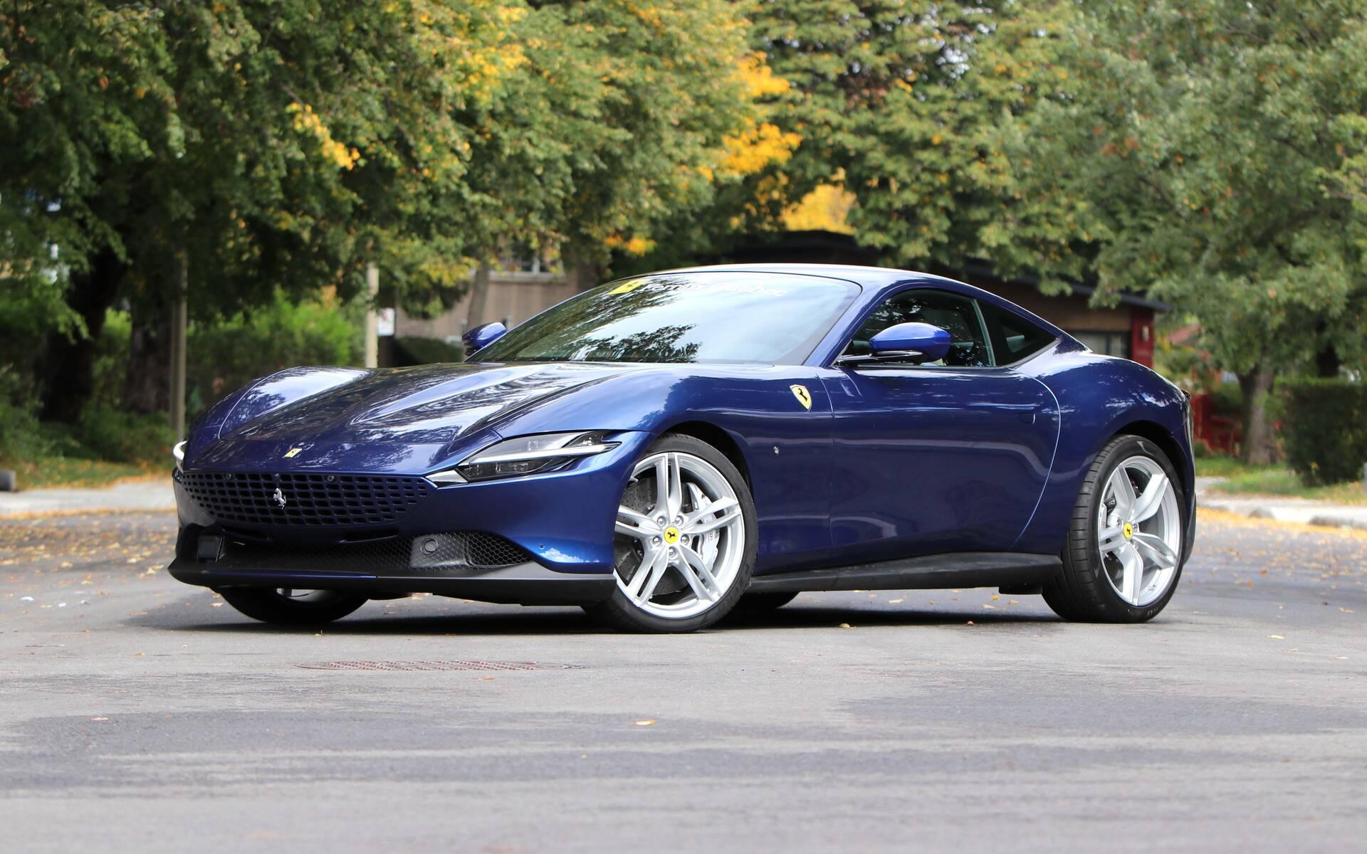 2021 Ferrari Roma Step Aside Aston Martin The Car Guide