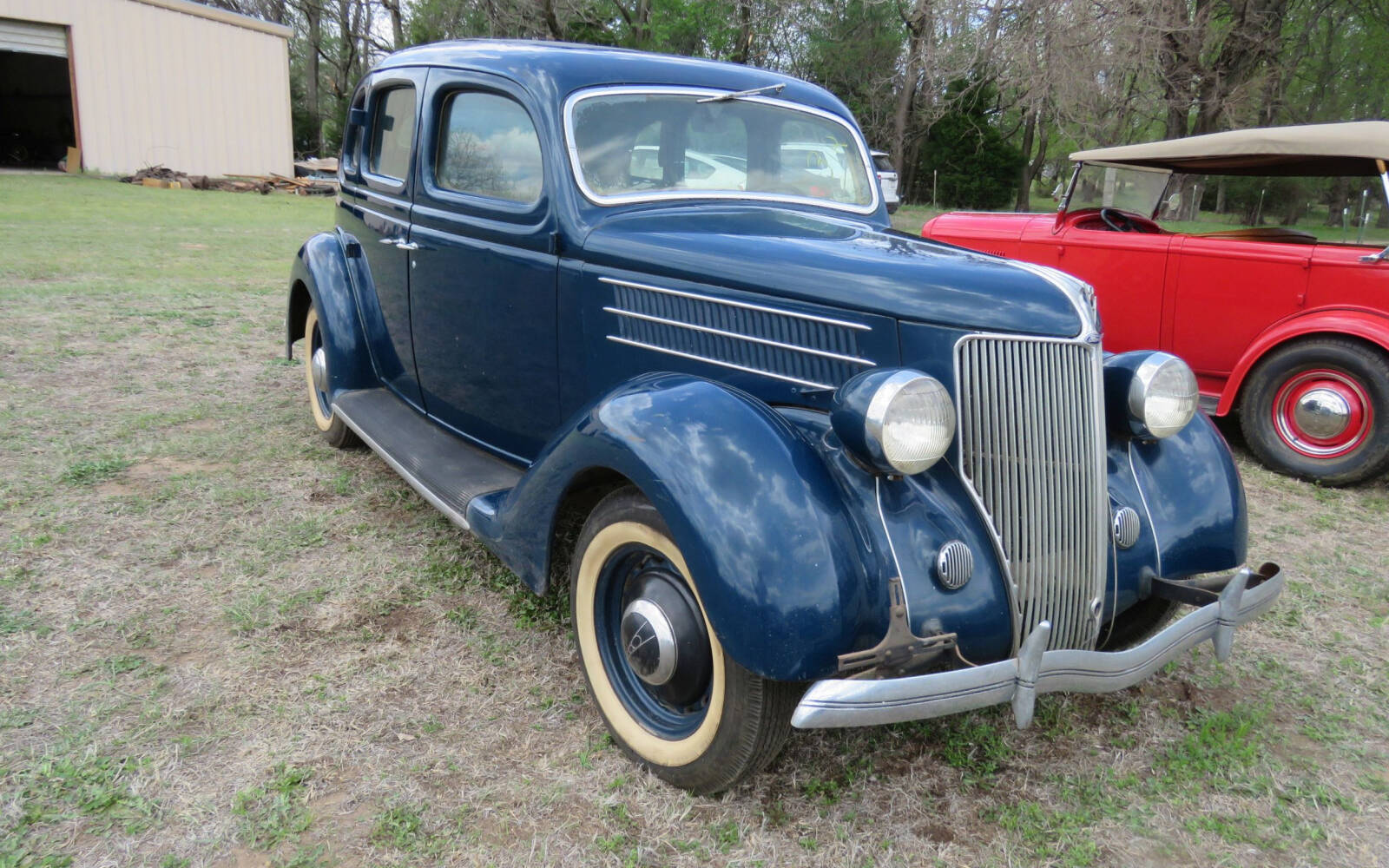 <p>1936 Ford sedan with suicide doors</p>