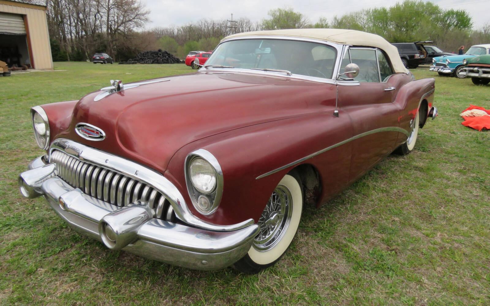 <p>Buick Skylark cabriolet 1953</p>