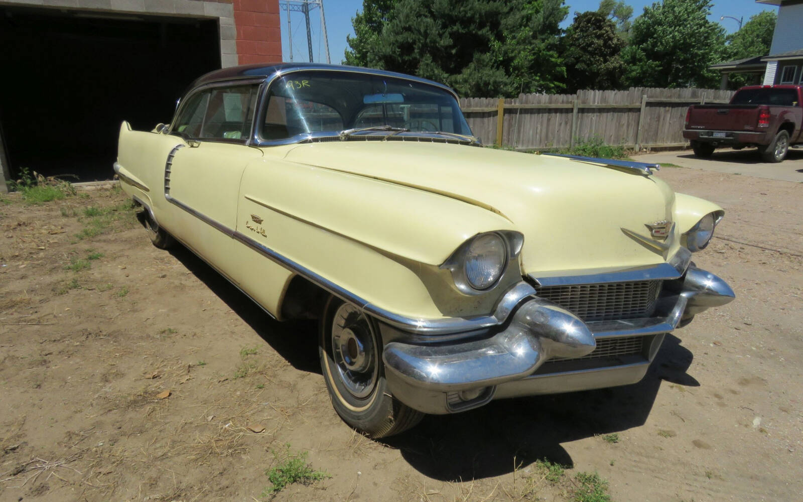 <p>1956 Cadillac Coupe Deville</p>