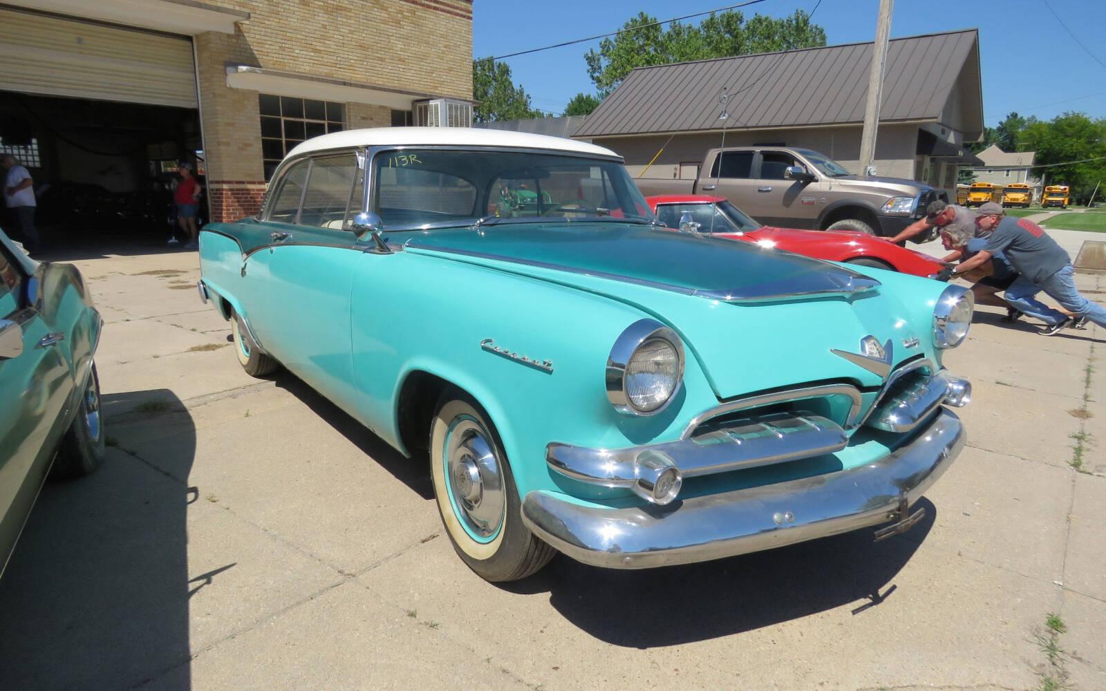 <p>1955 Dodge Coronet Hemi</p>