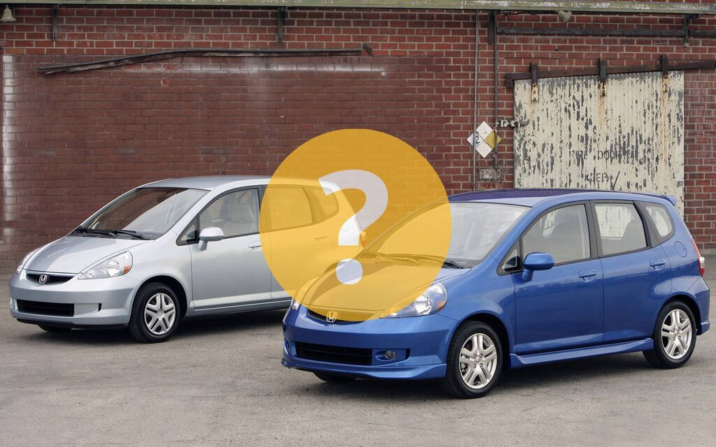 A 2007 Honda Fit to replace my old Corolla?