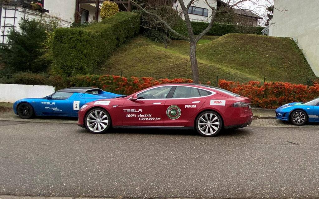 This Tesla Model S just reached 1.2 million kilometers