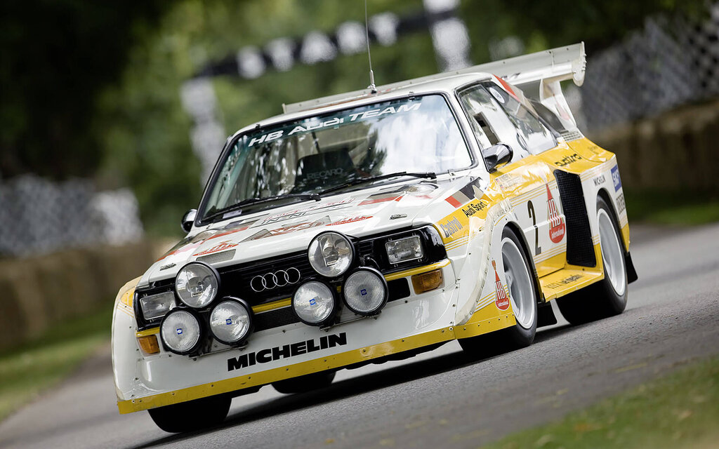 Audi celebrates 40 years of the quattro gear