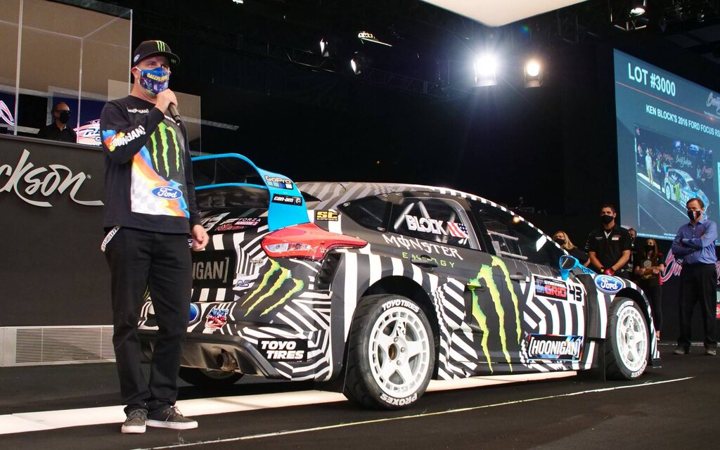 Ken Block's Ford Focus RS RX sold for $ 264,000