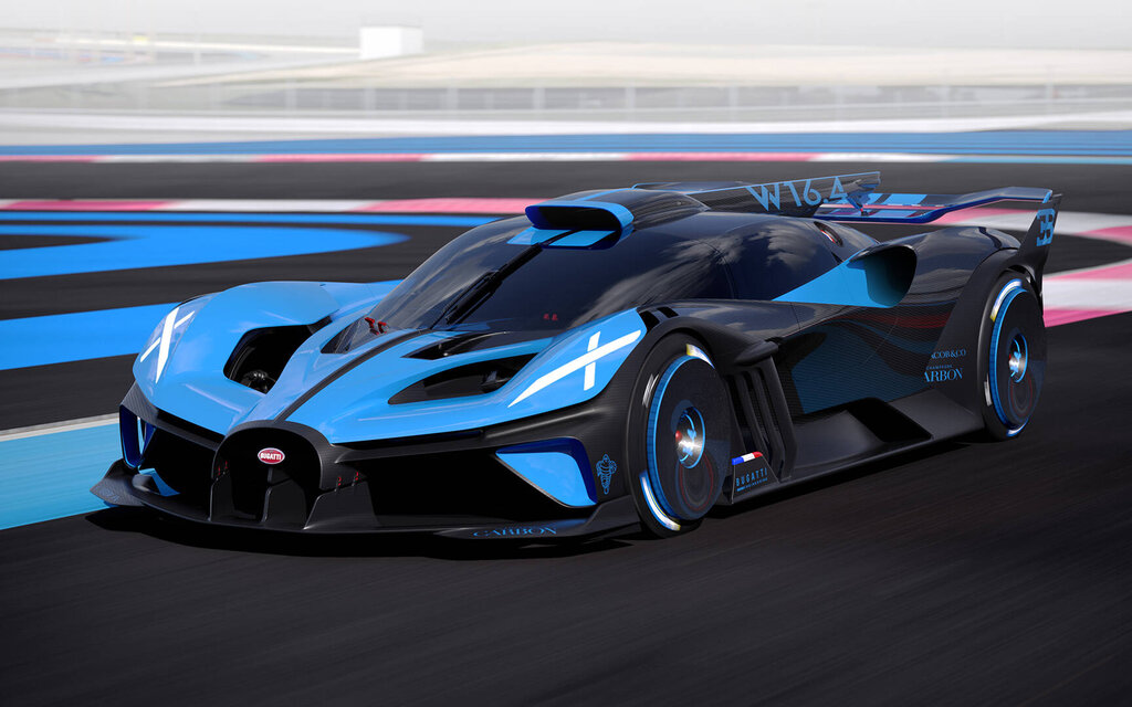 Bugatti Bolide: an absolutely insane hypersport concept