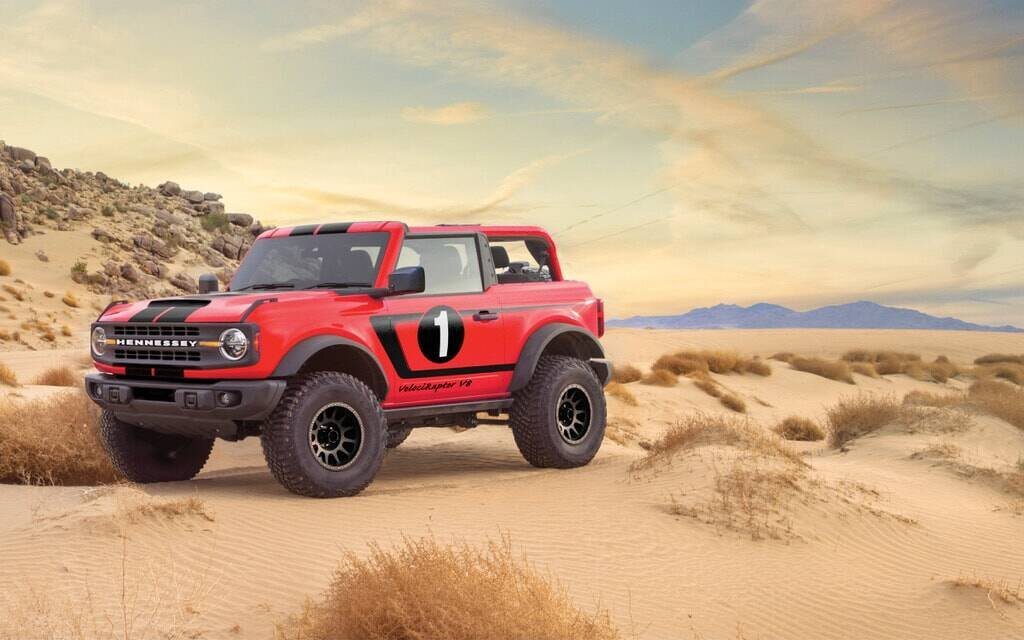 Hennessey's Ford Bronco will have a 750-horsepower V8