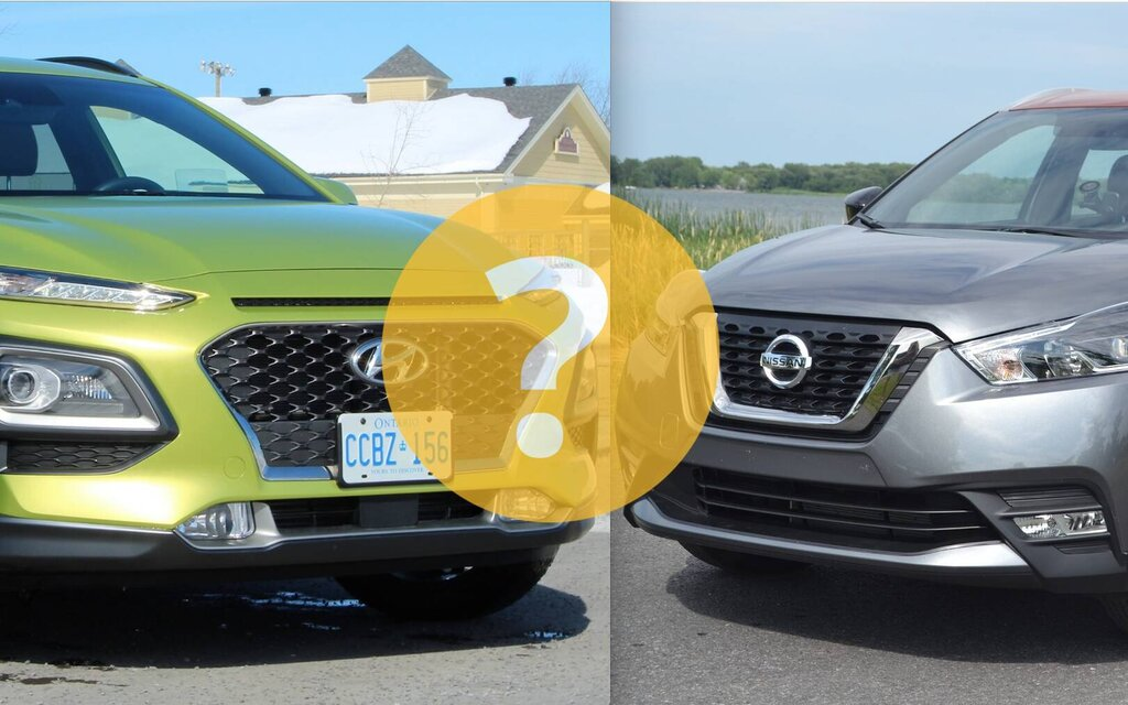 Hyundai Kona or Nissan Kicks: which one to choose?