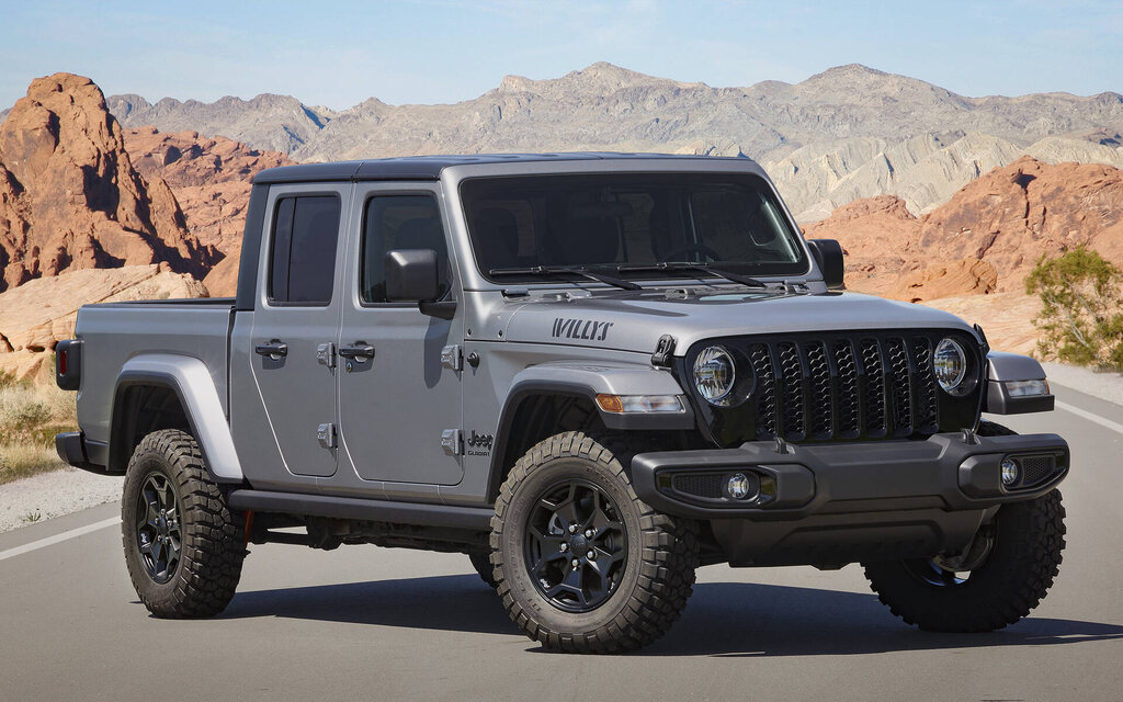 Jeep Gladiator Willys added for 2021