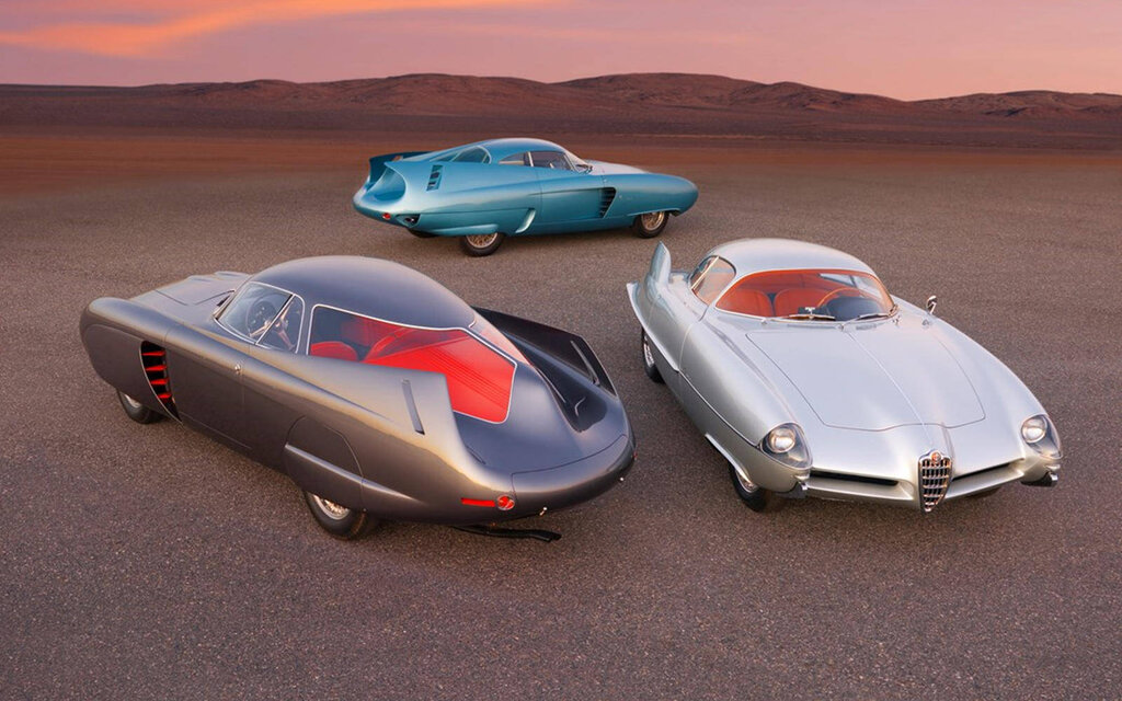 Three Alfa Romeo concepts sold at auction for $ 20 million