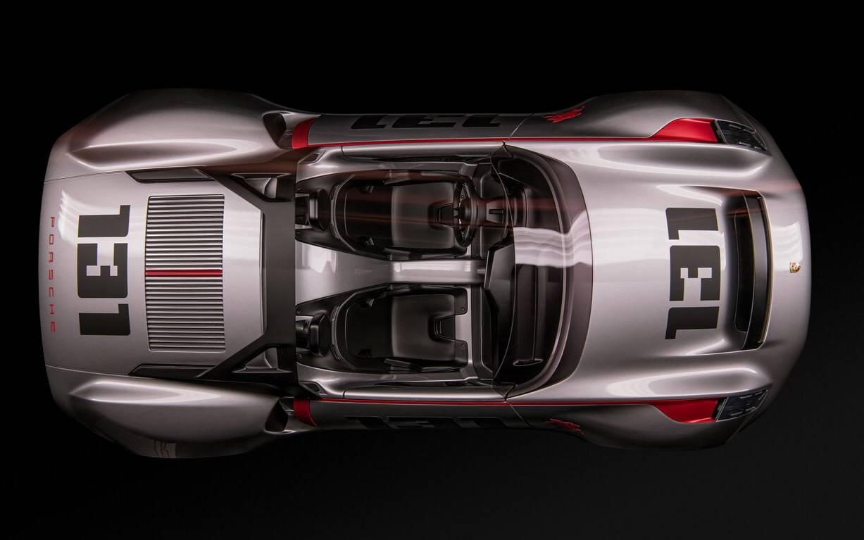 <p>Porsche Vision 551 Spyder – 2019</p>