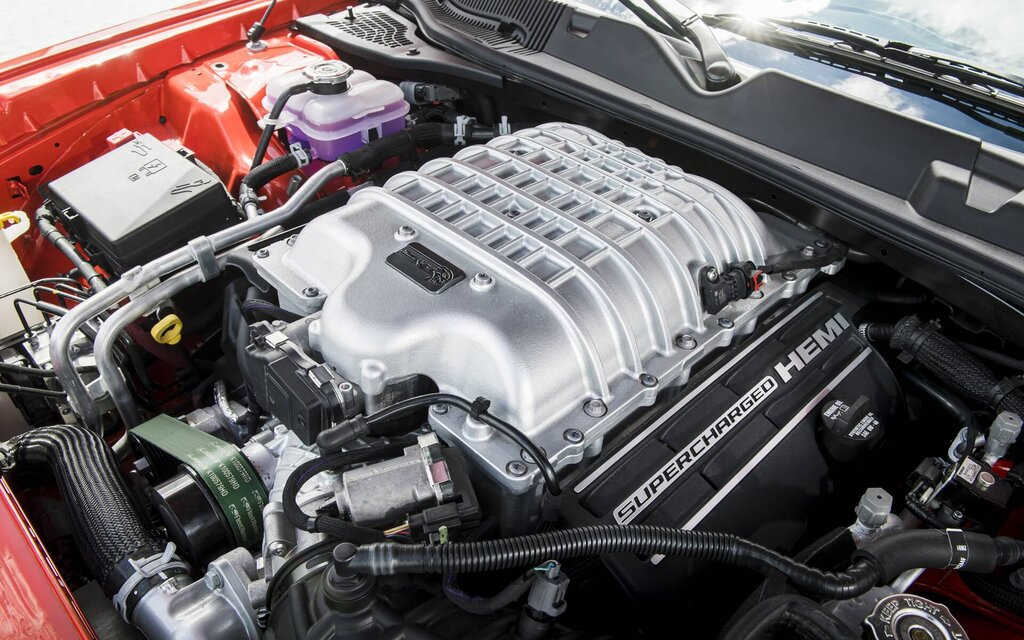 Dodge's 807-horsepower engine now on sale