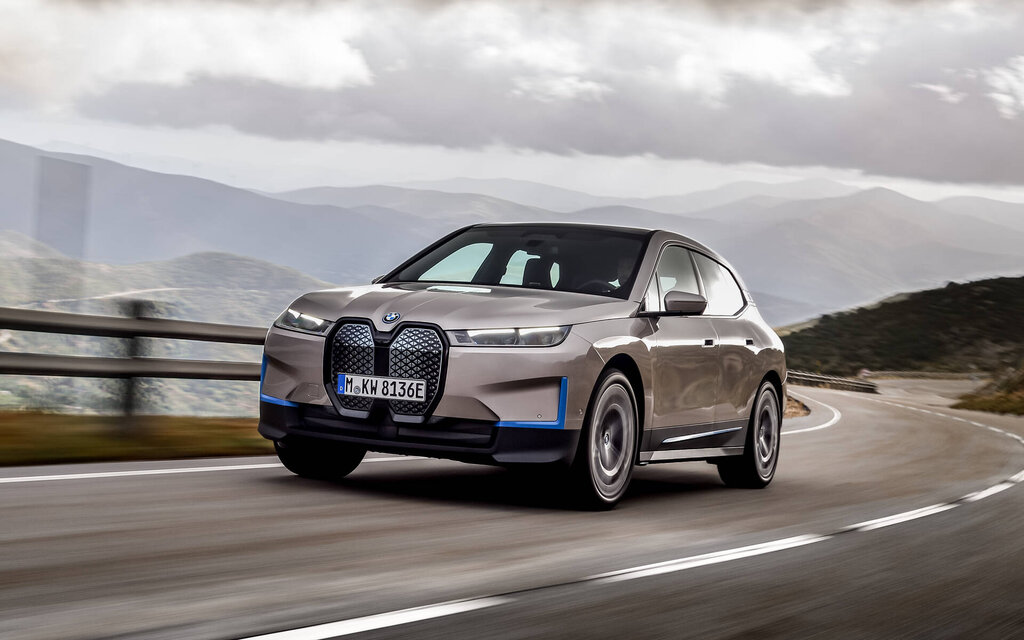 BMW iX: new electric SUV, new chapter for BMW