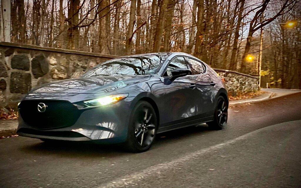 Mazda3 Turbo 2021: rise in rank