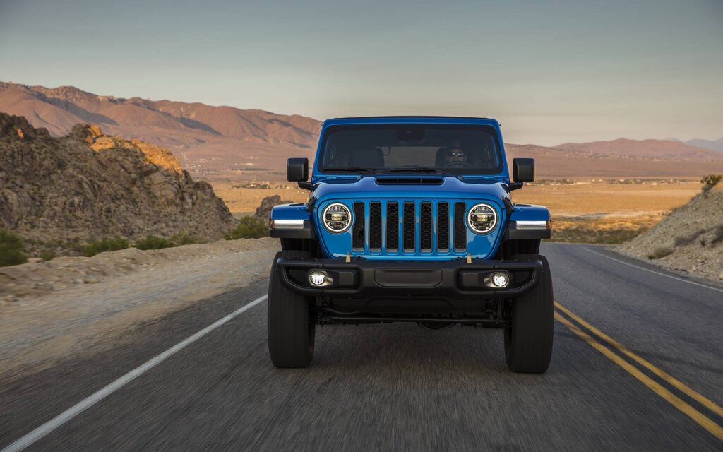Jeep adds a V8 under the hood of the 2021 Wrangler Rubicon